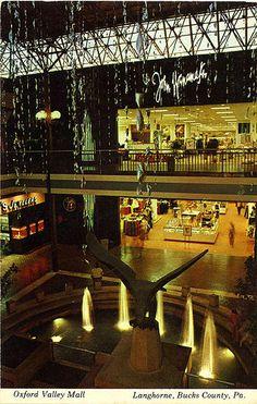 John Wanamaker Department Store Oxford Valley Mall Langhorne PA