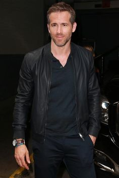 """Ryan Reynolds attends AOL Build Presents: """"Selfless"""" at AOL Studios in New York on July 6, 2015."""