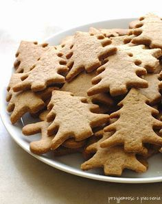 ciastka korzenne Sweet Recipes, Snack Recipes, Cooking Recipes, Cooking Games, Christmas Cookies Gift, Cookie Gifts, Happy Foods, Polish Recipes, Christmas Cooking