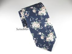 Floral Tie, Vintage Bloom – SuitedMan