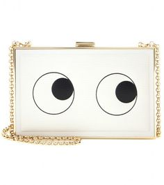 Anya Hindmarch Imperial leather box clutch