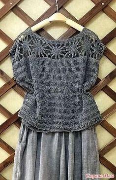 Fabulous Crochet a Little Black Crochet Dress Ideas. Georgeous Crochet a Little Black Crochet Dress Ideas. Débardeurs Au Crochet, Cardigan Au Crochet, Pull Crochet, Mode Crochet, Booties Crochet, Crochet Woman, Crochet Cardigan, Crochet Shawl, Crochet Vests