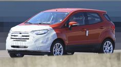 Al volante Ford EcoSport 2017: le foto spia del restyling [multipage]  Ford EcoSport 2017. Il piccolo SUV di Ford subirà nel 2017 un restyling che riguarderà specialmente il frontale della vettura inq quello che sarà #volante #alvolante #motori #inchieste #prove #automobilismo