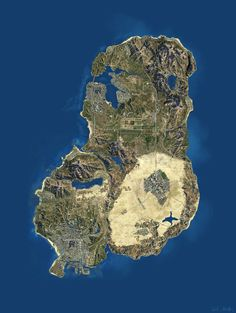 How the map in GTA V should have been. http://ift.tt/2ijtkSo
