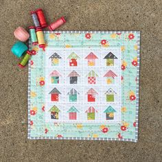 """Corey Yoder on Instagram: """"Thanks for the new pattern love! You guys are really enjoying my Mini Neighborhood pattern. @darlenejohannis has already finished one in…"""""""