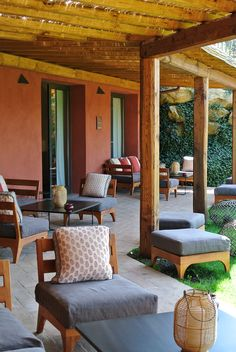 Locanda Rossa in Tuscany: a historic farmhouse conversion surrounded by rolling national park, close to the west Tuscan coast. i-escape.com