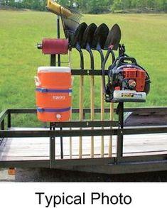 Professional Blower, Cooler, Line, Landscape Hand Tool Rack Organizer Trailer