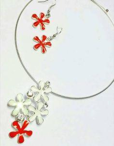 Shopo.in : Buy White Metal Pendant Set online at best price in New Delhi, India
