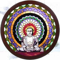 buddha art,buddha stained glass,buddhist art,buddhist stained glass,buddhism art