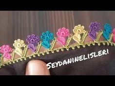 Crochet Earrings Pattern, Make It Yourself, Embroidery, Lace, Youtube, Jewelry, Dish Towels, Amigurumi, Needlepoint