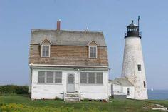 Cyberlights Lighthouses - Wood Island Lighthouse