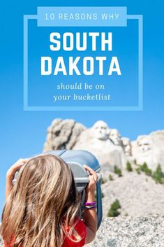 South Dakota is on the top of our family travel bucketlist! Check out 10 of our favorite things to do in South Dakota. This state packs a ton! Usa Travel, New York Travel, South Dakota Vacation, South Dakota Travel, Midwest Vacations, Road Trip Usa, Usa Roadtrip, Road Trip Adventure, Best Travel Guides