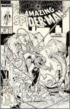 Original Comic Art:Covers, Todd McFarlane The Amazing Spider-Man #303 Cover OriginalArt (Marvel, 1988).... Image #1