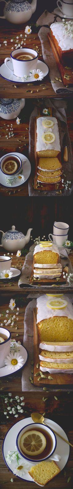 bizcocho de limón y cardamomo / http://pemberleycupandcakes.com