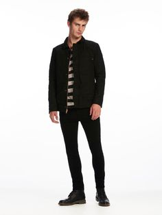 Lot 22 Jacket - Lava Tears Black Selvedge