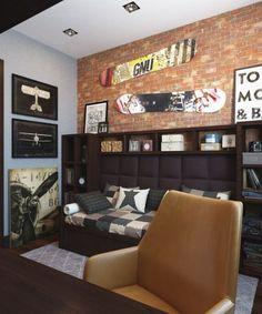 """Дизайн интерьера, 3d визуализация - Проект """"Дизайн комнаты подростка"""""""