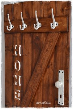 HOME - Self made wardrobe, coat rack, palletts