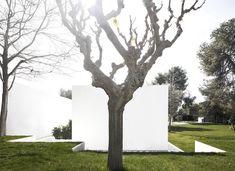 Guests Pavilion,© Fernando Guerra | FG + SG