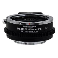 Vizelex ND Throttle Fusion Smart AF Lens Adapter - Canon EOS - EF (NOT EF-S) D/SLR Lens to Sony Alpha E-Mount Mirrorless Camera Body with Full Automated Functions and Built-In Variable ND Filter (1 to 8 Stops) Price:$249.95