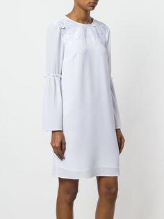 79267250cfa Michael Michael Kors Платье Прямого Кроя с Аппликациями-цветами - Farfetch