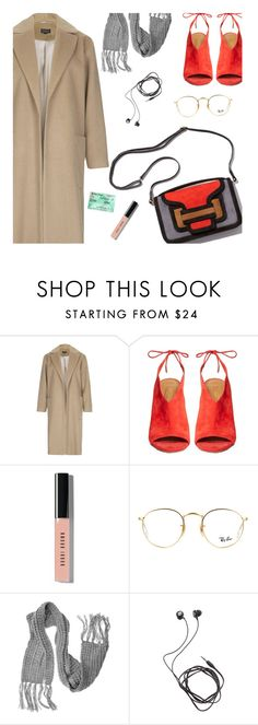 """""""//a song that's flawless//"""" by uncharged-batteries on Polyvore featuring Topshop, Pierre Hardy, Aquazzura, Bobbi Brown Cosmetics, Ray-Ban, Lalù and Diane Von Furstenberg"""