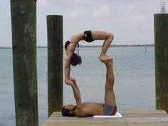 cool acro yoga