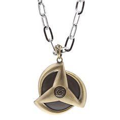 Naruto Symbol Alloy Necklace (Coppery) Summer Necklace, Ring Necklace, Naruto And Sasuke, Kakashi, Naruto Symbols, Jewelery, Jewelry Necklaces, Luxury Jewelry, Unique Jewelry