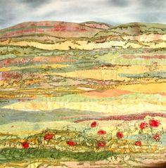 Harvest Poppies; Judith Reece
