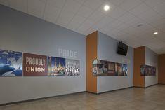 Interior signage at IBEW Local 58 Ideation Royal Oak MI