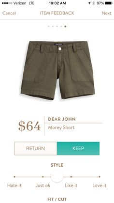 Dear John Morey shorts. I love Stitch Fix! A personalized styling service and it's amazing!! Simply fill out a style profile with sizing and preferences. Then your very own stylist selects 5 pieces to send to you to try out at home. Keep what you love and return what you don't. Only a $20 fee which is also applied to anything you keep. Plus, if you keep all 5 pieces you get 25% off! Free shipping both ways. Schedule your first fix using the link below! #stitchfix @stitchfix. Stitchfix Spring…