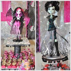 #Draculaura #FrankieStein #MonsterHIgh Boutique Festas