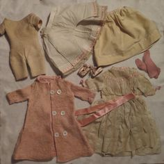 Factory Original Antique Doll Clothes Set for 18 inch