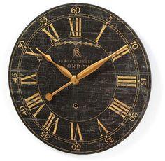Lark Manor Saint-Benoit 18  Round Wood Wall Clock
