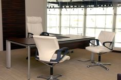 Aayan - Executive Floor    MODUS executive   Design: Klaus Franck, Werner Sauer and wiege, Fritz Frenkler, Justus Kolberg   By Wilkhahn   #modus   #kuwait Executive Office Chairs, Home Office Chairs, Create Space, Swivel Chair, Three Dimensional, Palette, Flooring, Table, Furniture