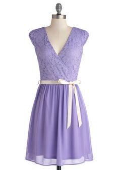 Champagne at Midnight Dress in Lavender, #ModCloth I know its lavender, but i think its totes adorbs and comes in 4x.