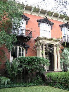 Infamous Mercer House of Savannah, GA