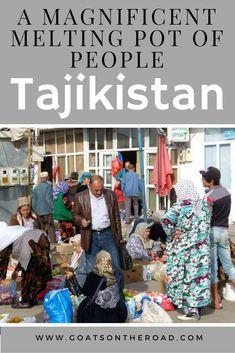 Tajikistan: A Magnificent Melting Pot of People
