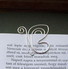 Butterfly - wire bookmark