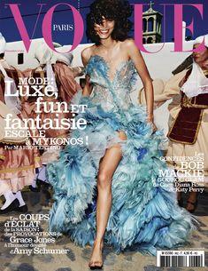 Mica Arganaraz, Vogue Magazine [France] (November 2015)