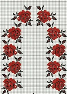 Click the picture to see the actual size. Cross Stitch Rose, Cross Stitch Flowers, Beaded Embroidery, Cross Stitch Embroidery, Cross Stitch Designs, Cross Stitch Patterns, Costumes, Costume Ideas, Tapestry