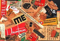 Madame paper collage Donnas Schaeffer