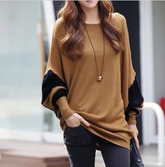 Women's Casual Batwing Top Clearance