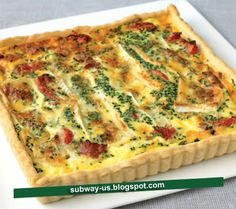 brie and bacon tart recipe