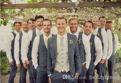Rustic Tuxedo  I love this look for the groom and groom mens. Too cute