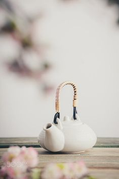White teapot and sakura flowers on wooden table against the white wall by Natalia Klenova / 500px Wooden Tables, White Walls, Tea Pots, Pure Products, Engagement, Tableware, Flowers, Beauty, Wood Tables