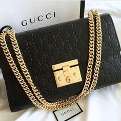 Gucci padlock bag | pinterest: @Blancazh