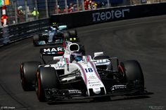 7 laps down, P14 for Lance Stroll, Williams, Monaco, 2017