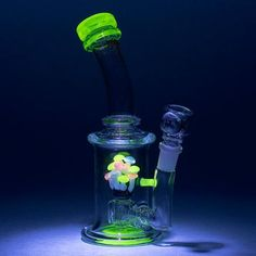 """Empire Glassworks - """"Illuminati Shroom"""" Water Pipe from DankGeek Weed, Cool Bongs, Water Bongs, Pipes And Bongs, Dab Rig, Hand Pipes, Smoke Shops, Smoking Accessories, Water Pipes"""