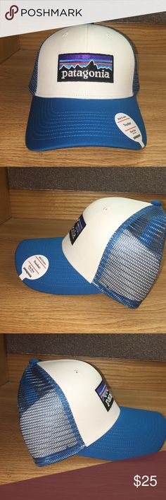 Patagonia Trucker Hat Patagonia Trucker hat. Mid-Crown / One Size (adjustable) / P-6 / Classic Patagonia Logo / Retails for $29.00 Patagonia Accessories Hats