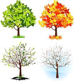 Drzewo marzenie miejsce do rozpoczęcia, vector graphics - 365PSD.com